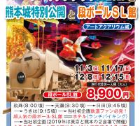 アートアクアリウム2019と熊本城特別公開