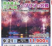 九州一の花火大会・ダリアの宮殿